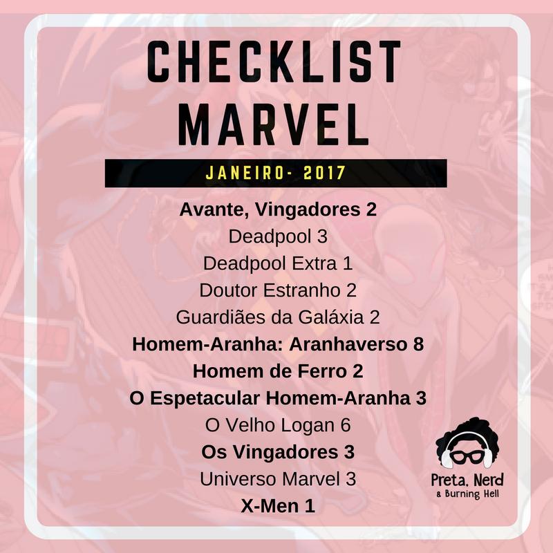 Cheklist - Marvel