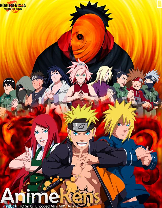 Naruto Shippuuden Movie 6 - Road to Ninja 300mb/480p