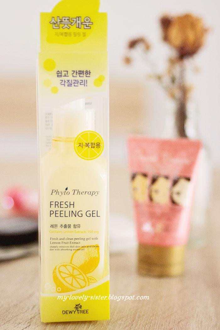 Aplikasikan Dewytree Lemon Peeling Gel (review di sini) pada kulit ...