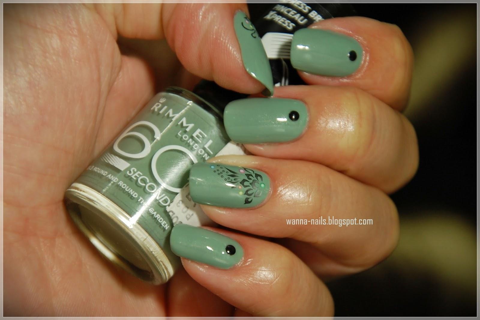 Khaki ~ Wanna See My Nails ?