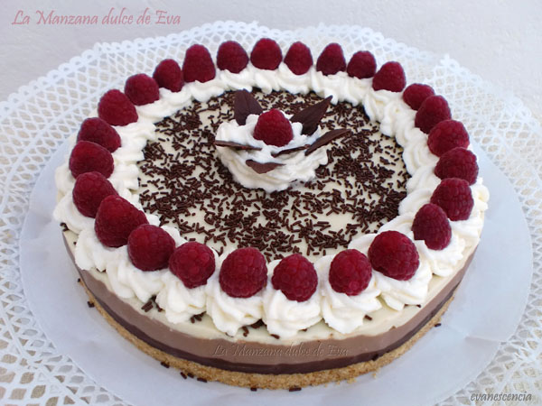 tarta 3 chocolates sin Thermomix