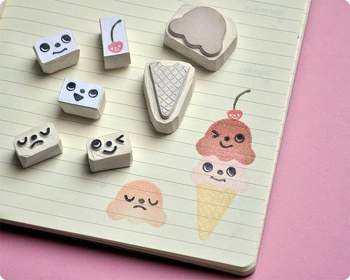 Sellos carvados helados