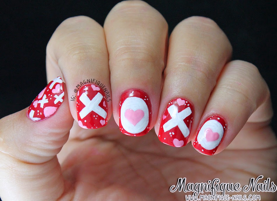 Magically Polished Nail Art Blog Alphabet Nail Art Challenge X