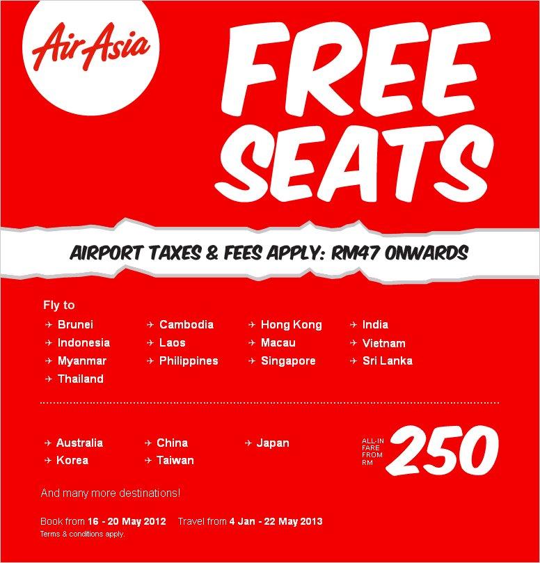 Promo Airasia 2013 Ke Thailand