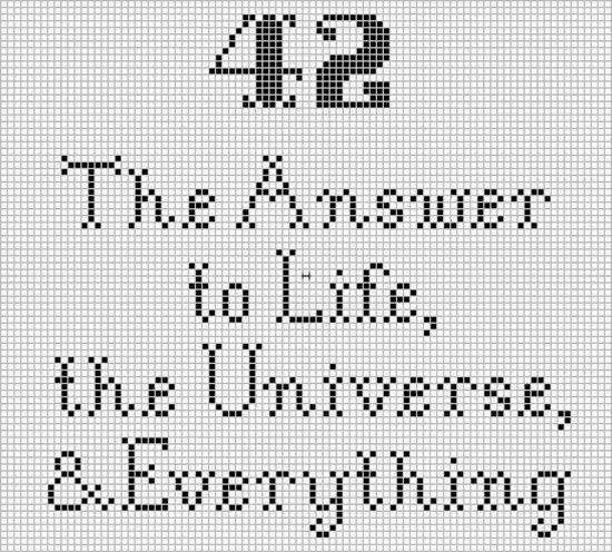 vad är meningen med livet 42