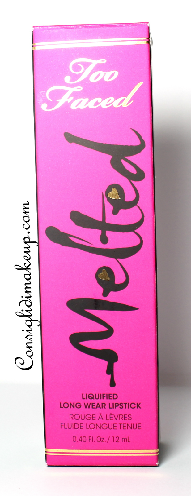 Review: Rossetto Liquido Melted  Fuchsia - Too Faced