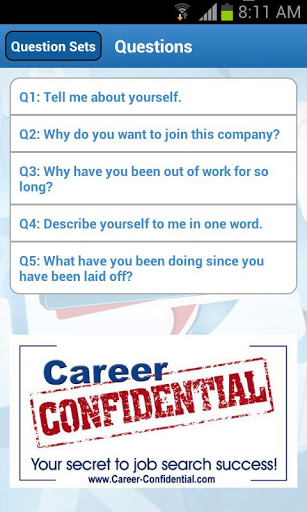 Application Name : Job Interview Question-Answer