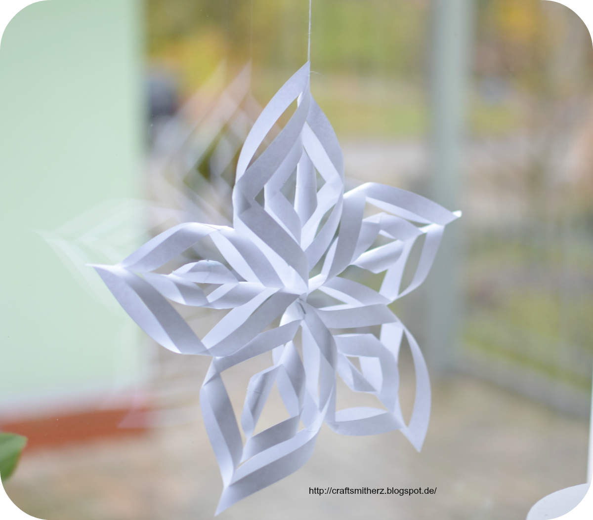 Snowflake ornaments crafts - Snowflake Ornaments Crafts 1