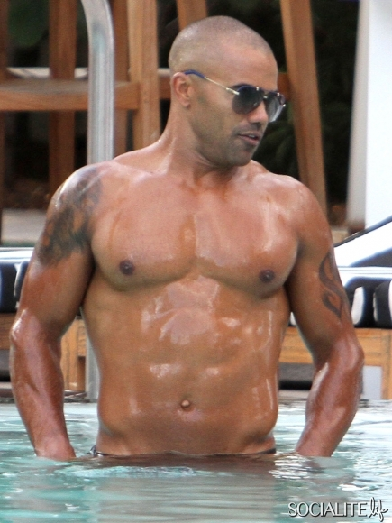 Remarkable, the Shemar moore naked on beach what that