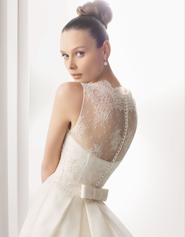 Choose your fashion style charming lace back wedding dresses for Can t decide on wedding dress