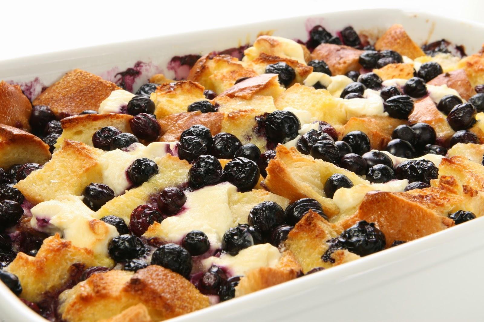 Blueberry Breakfast Casserole Recipe
