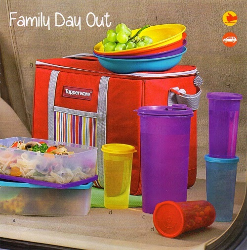Family Day Out Tupperware
