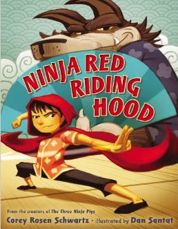 http://www.amazon.com/Ninja-Riding-Corey-Rosen-Schwartz/dp/0399163549