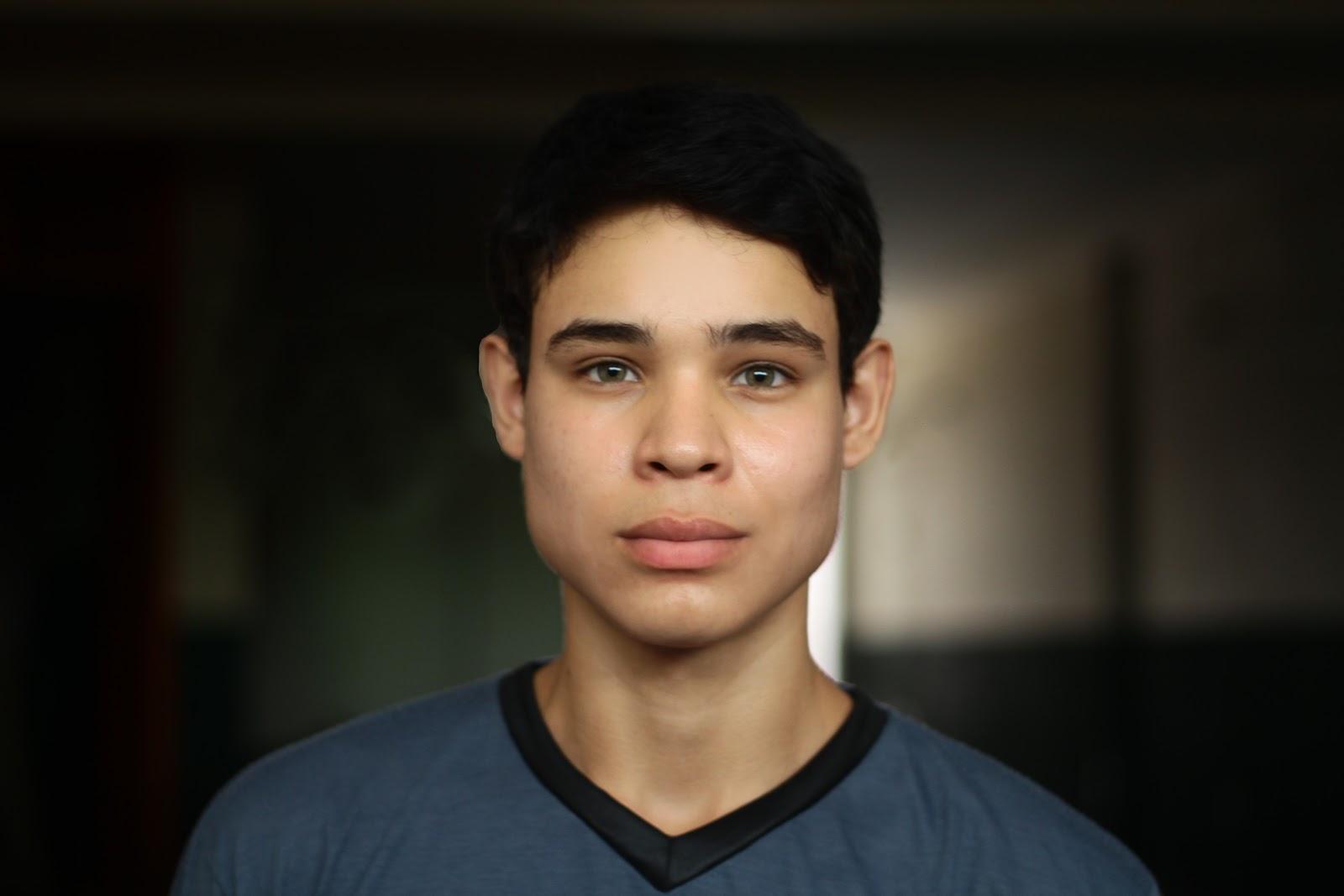 Alexandre Souzah, protagonista do Filme Namoro Adolescente. Uma produção de Cine Cast Photography