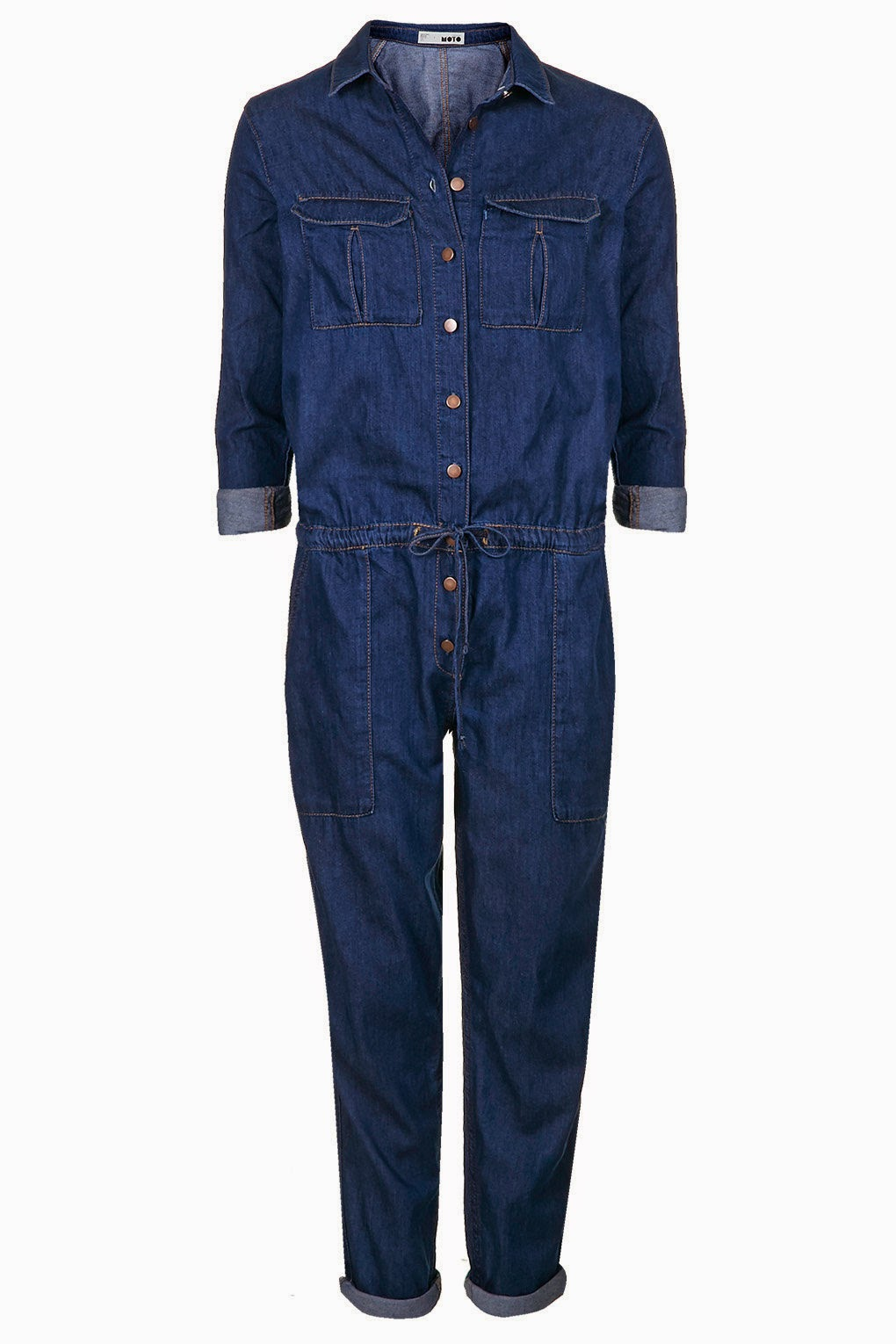 denim boilersuit, topshop denim boilersuit,