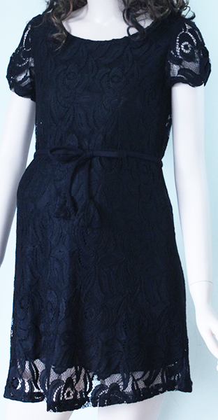 Váy bầu đen V-05