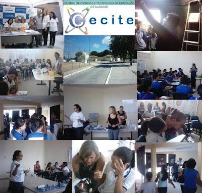 Oficinas no CECITE durante a Semana Integrada do Meio Ambiente 2010