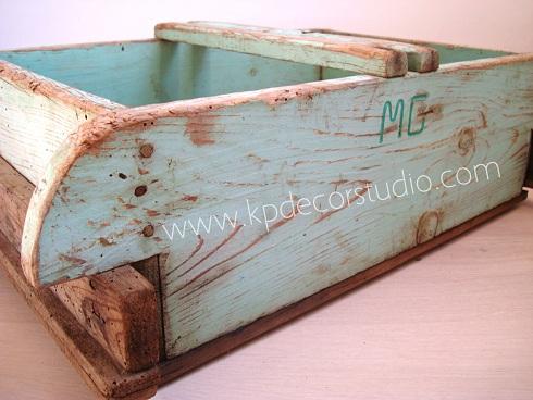 Kp tienda vintage online comprar revistero vintage buy vintage magazine rack - Muebles decapados ...
