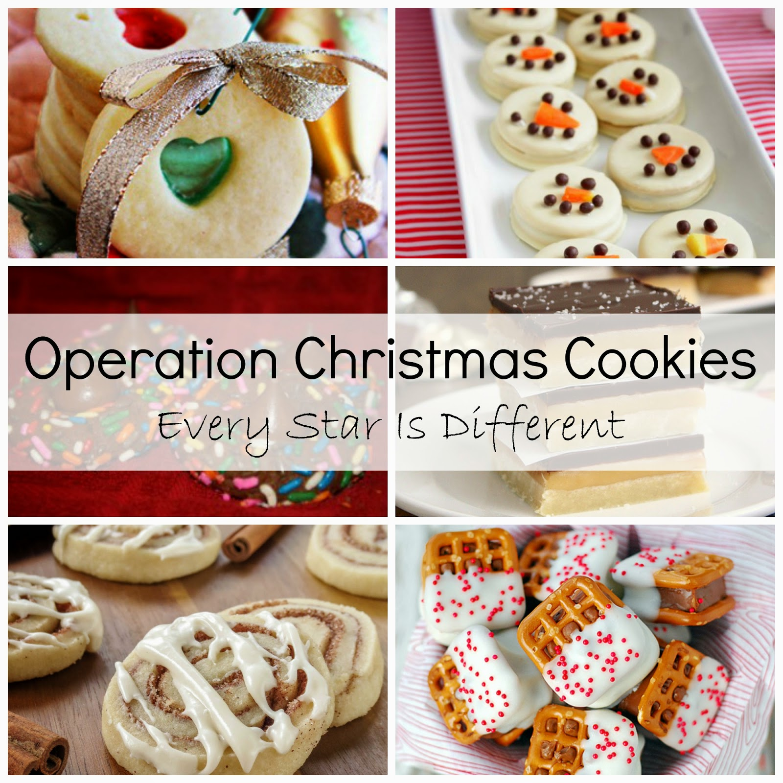 Operation Christmas Cookies Every Star Is Different