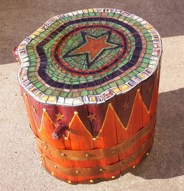 Tree Stump Mosaic