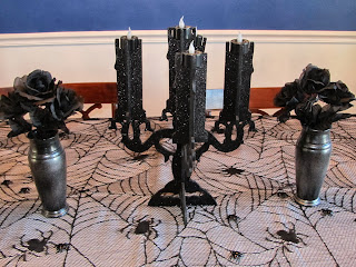 DIY Halloween Vases, Dollar Store Halloween Project