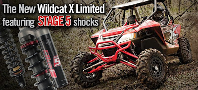Arctic Cat Wildcat X Limited with Elka Stage 5 Shocks