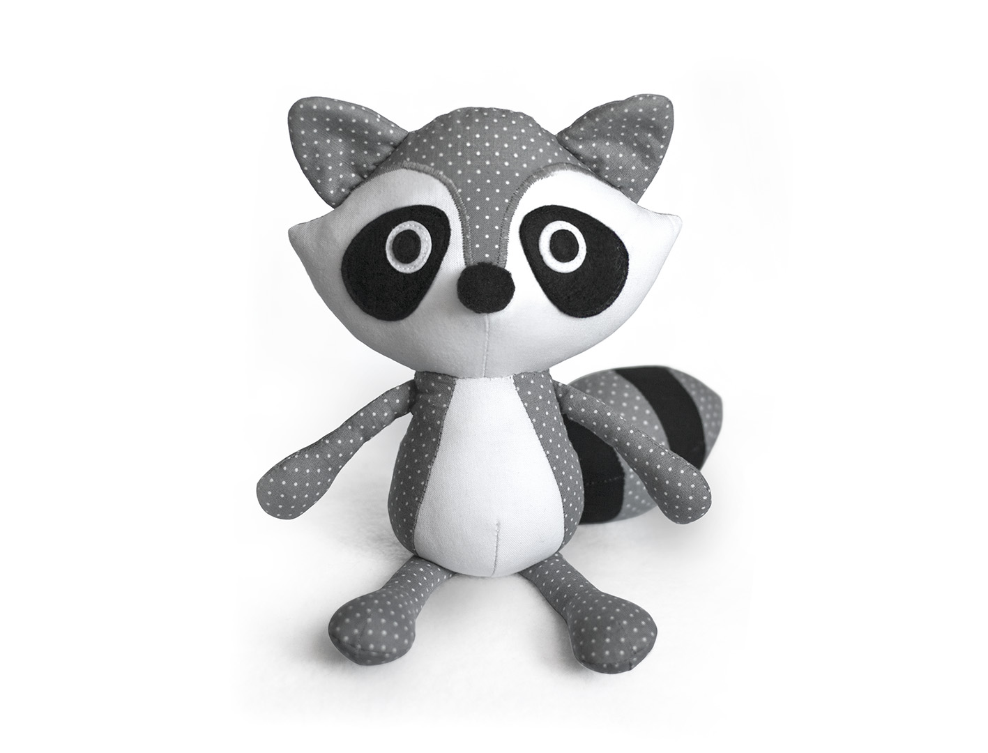 Soft Toy Patterns : Toy patterns by diy fluffies raccoon sewing pattern