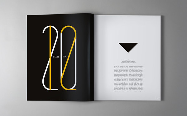 layouts in magazine design - Publication Design Ideas