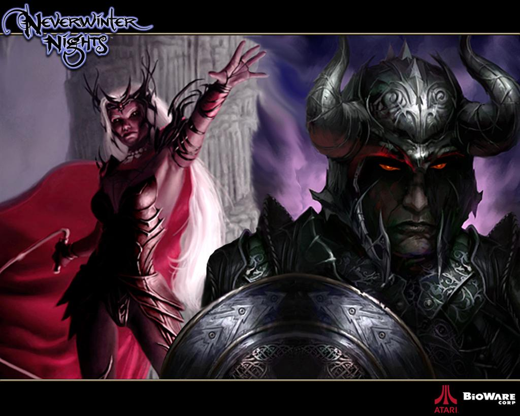Neverwinter Nights HD & Widescreen Wallpaper 0.96714730375823