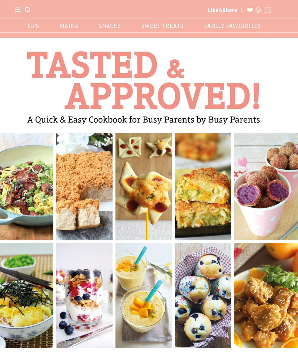 My recipes are featured in a cookbook!