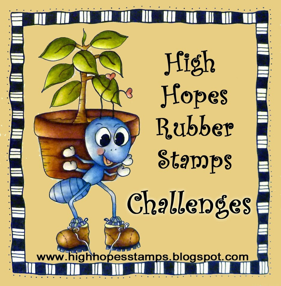 High Hopes Rubber Stamps Challenge