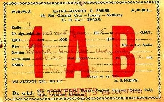 Arquivo Histórico do Radioamador Brasileiro
