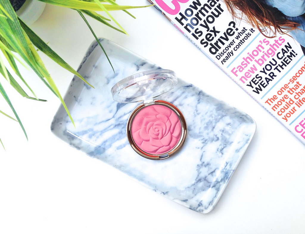 Milani Rose Powder Blush in Tea Rose Review