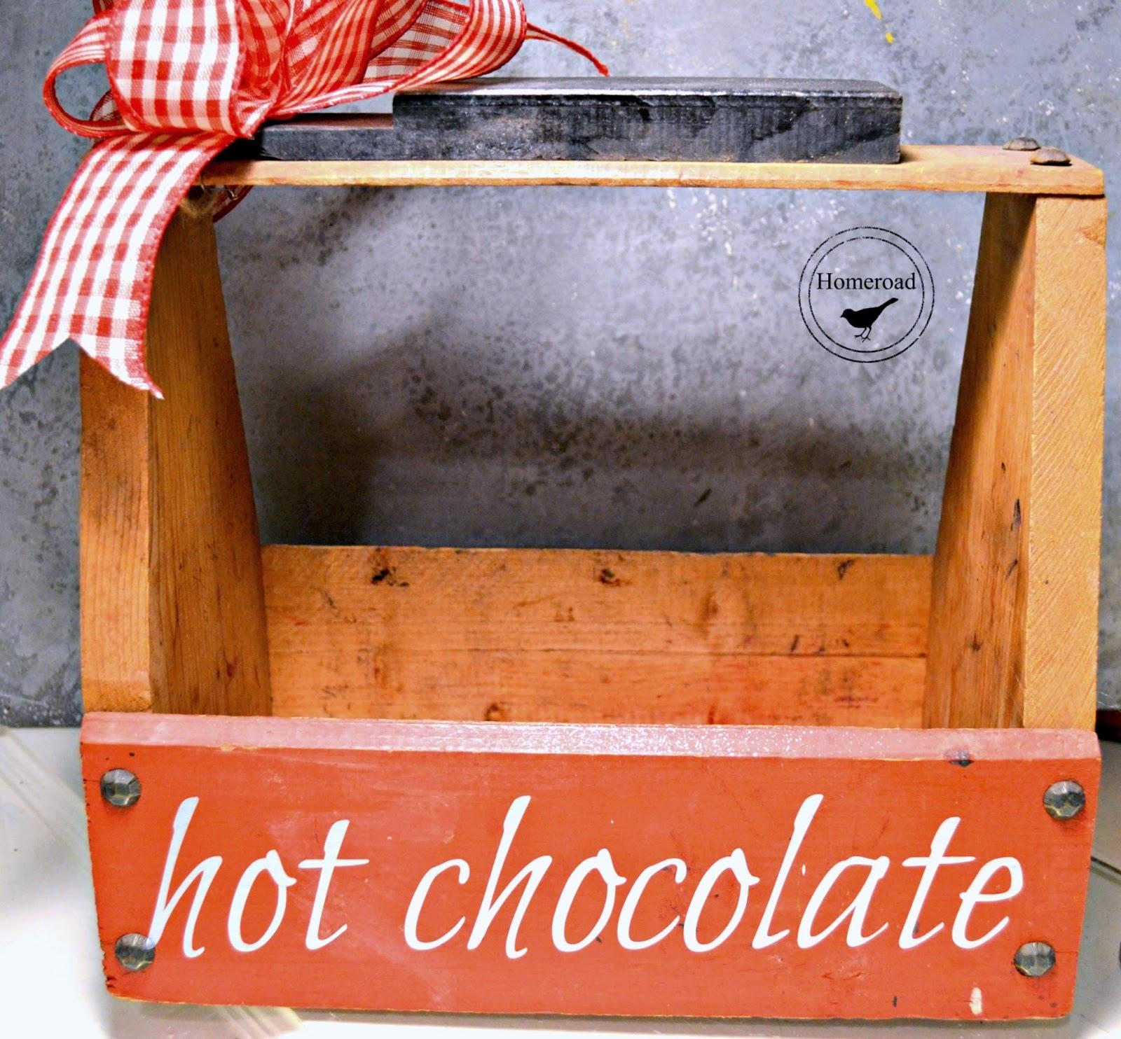 Hot Chocolate Tote www.homeroad.net