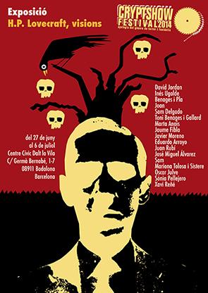 Cryptshow Festival dedica su exposición a H.P. Lovecraft
