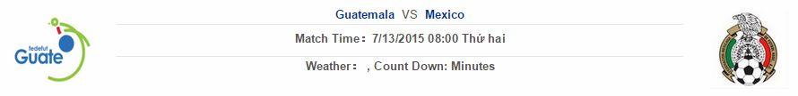 Guatemala vs Mexico link vào 12bet