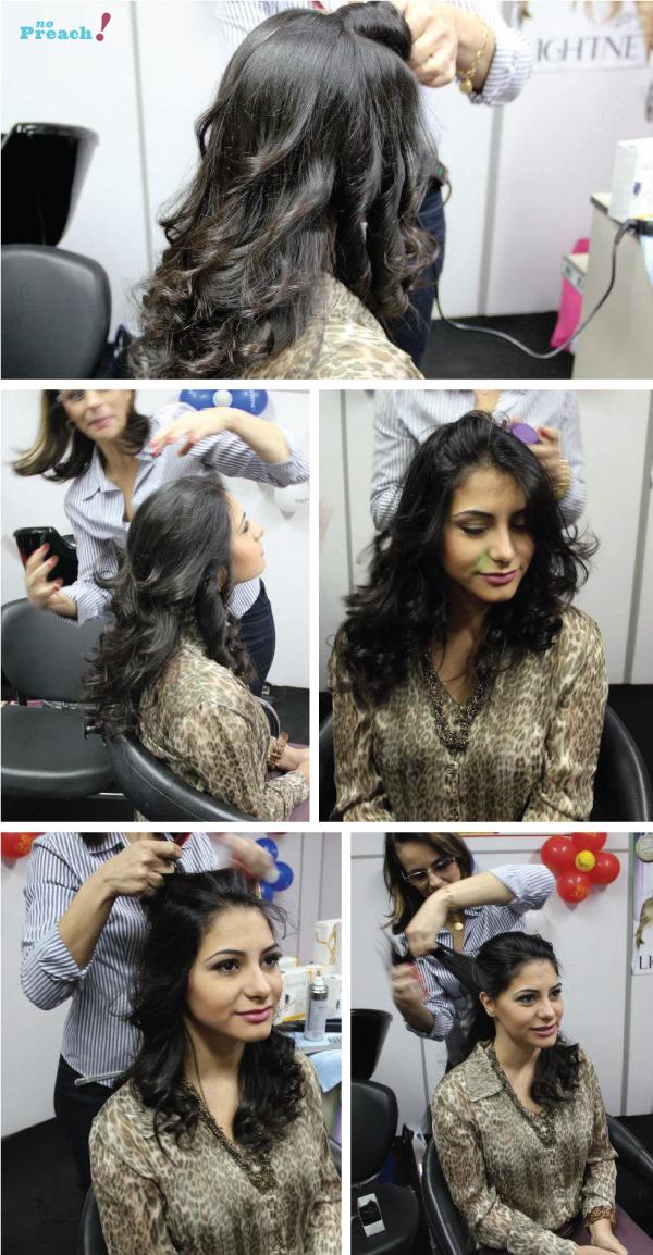 Barbara Urias - penteado cabelo de noiva