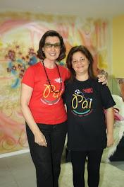 Cris Poli e Claudia Guimarães