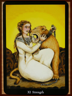 strength Anna K Tarot