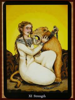 strength Anna K Tarot
