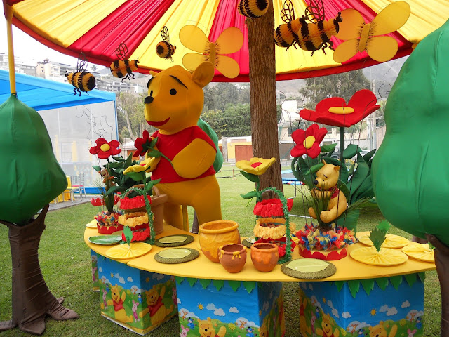 Fiesta winnie pooh party ideas decoracion en fiestas - Ideas decoracion fiestas ...