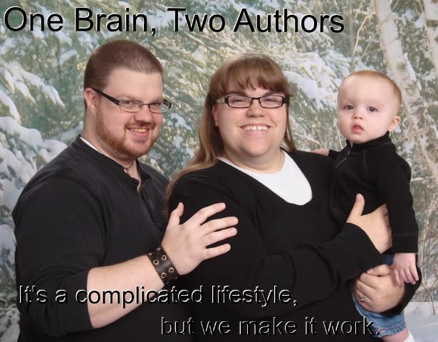 One Brain, Two Authors