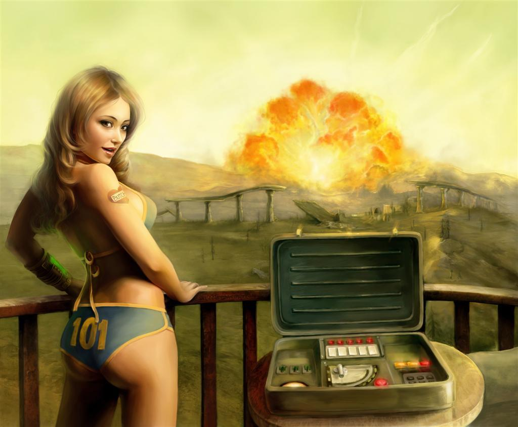 Fallout HD & Widescreen Wallpaper 0.966457177144093
