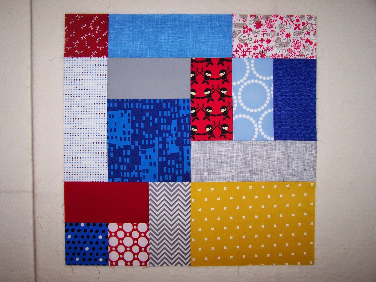 sunlight in winter quilts: One Big Block