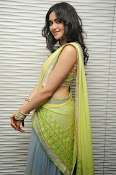 Adah sharma glam pics in saree-thumbnail-6