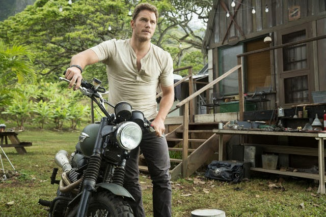 jurassic world on set