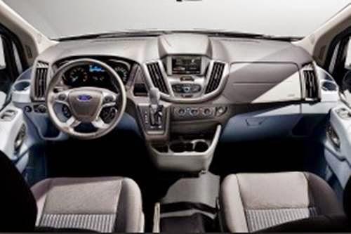 2015 Ford Transit Van Interior