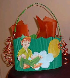 Children's Parties Decoration Peter Pan Centerpieces