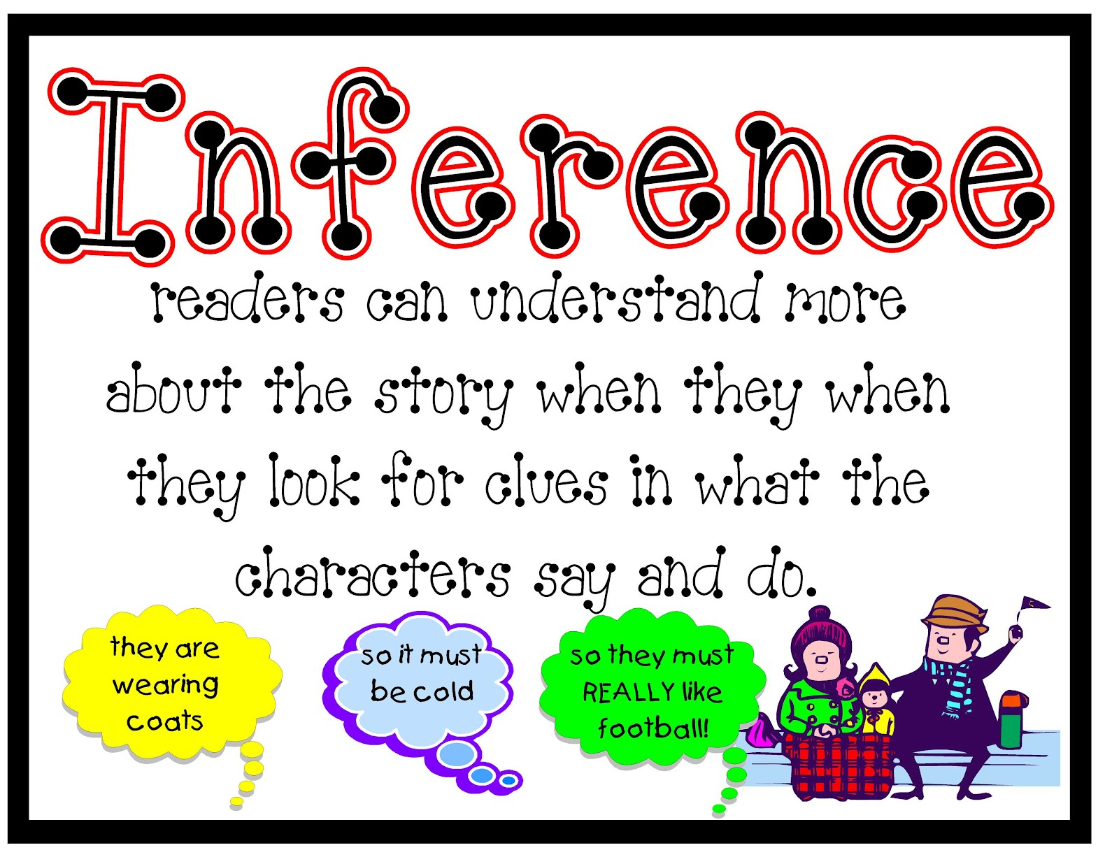 how to write inference in biology