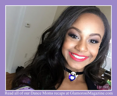 Nia Frazier aka Nia Sioux, star of Dance Moms on Lifetime